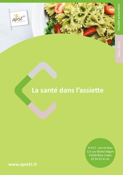 La santé dans l'assiette - APST41