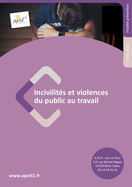 Incivilités et violences - APST41