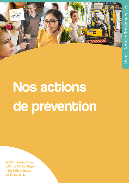 Nos actions prévention
