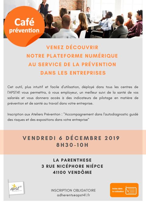 Café Prévention 6 Décembre